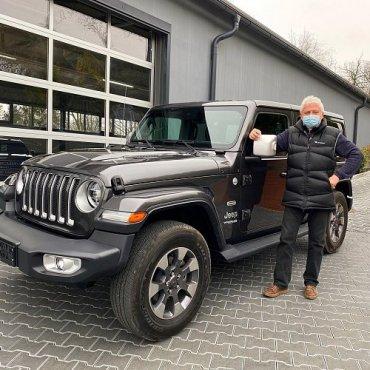 Prodáno...... Jeep Wrangler - individuální dovoz na přání zákazníka řešený on-line ???. Děkujeme za důvěru ? a přejeme Vám pohodovou jízdu cestou necestou. Tým Auto z dovozu. #autozdovozu #prodano #sold #autonaprani #autonazakazku #dekujemezaduveru #zijsv